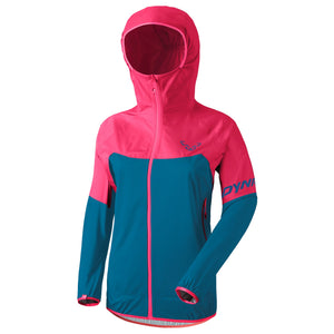 Hiking Transalper Light 3L Jacket Women blue pink Dynafit bei Sport Raith
