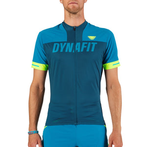 Biking Ride Full Zip T-Shirt for Men blue Dynafit bei Sport Raith