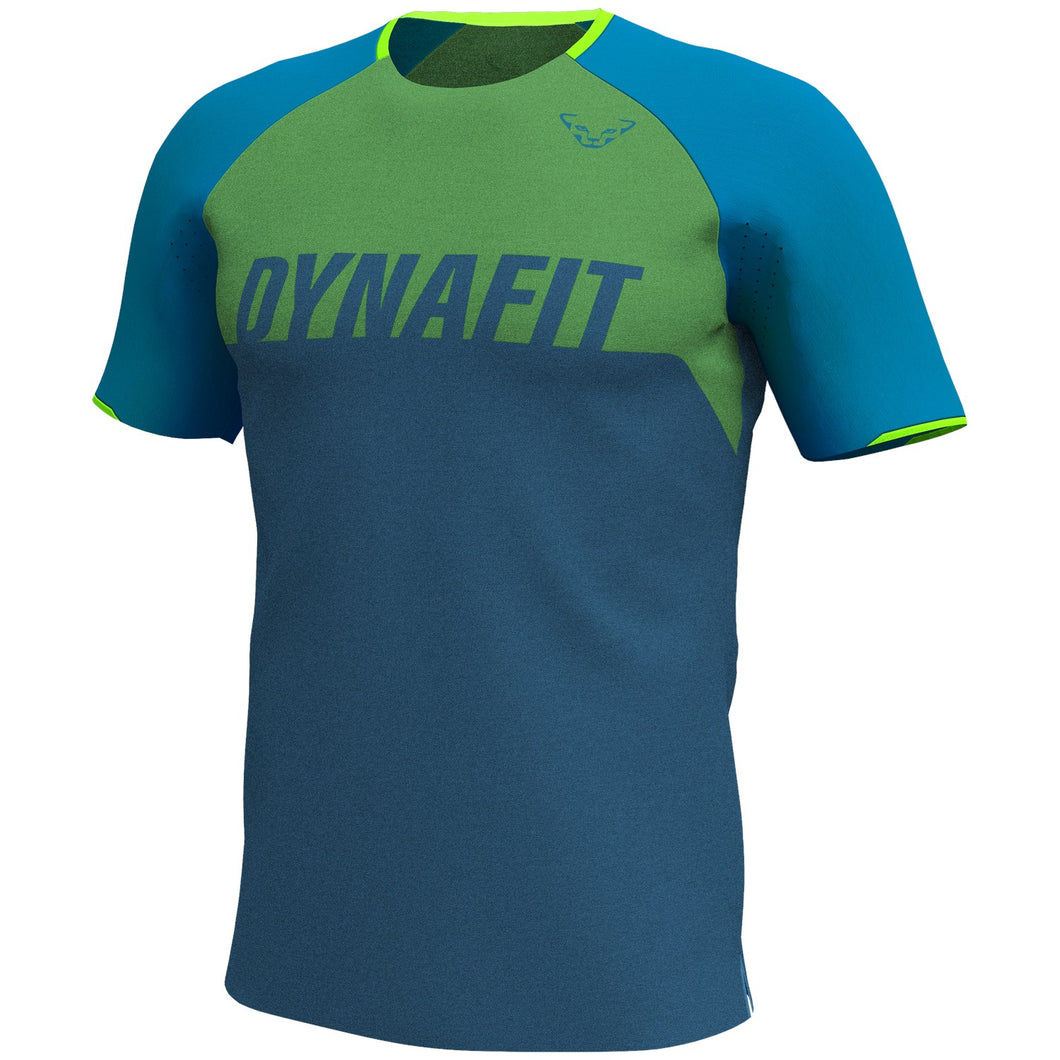 Ride T-Shirt for Men blue front Dynafit bei Sport Raith