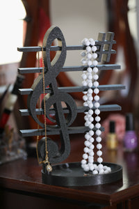 Treble Clef Headphone Stand