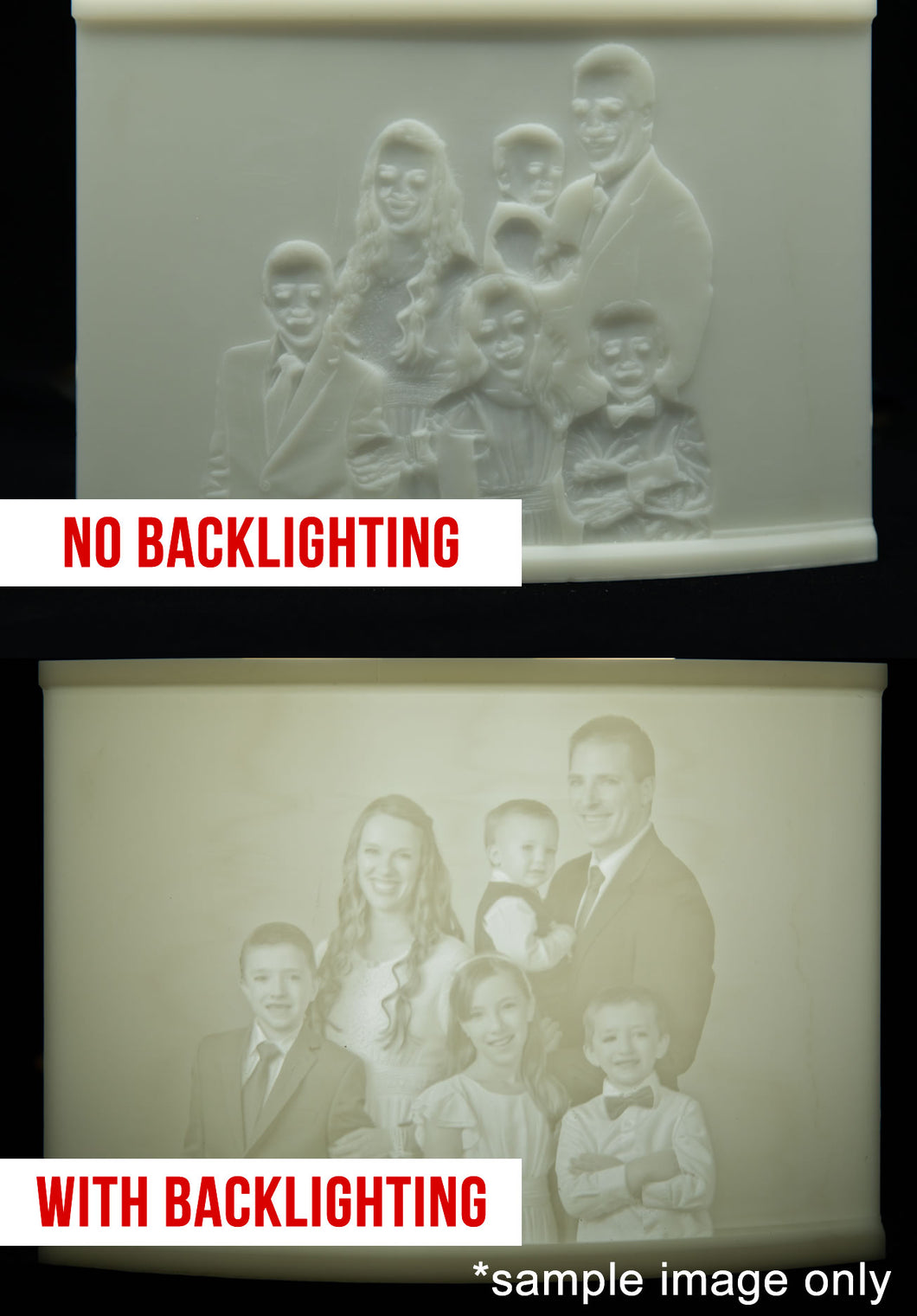 Custom 3D Printed Lithophane
