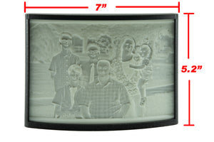 3D Printed Lithophane Display Case w/ Lithophane
