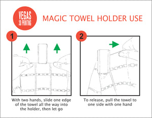 Magic Towel Holder