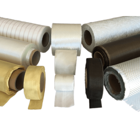 Fibreglass Cloths, Tapes, Reinforcements & Rods