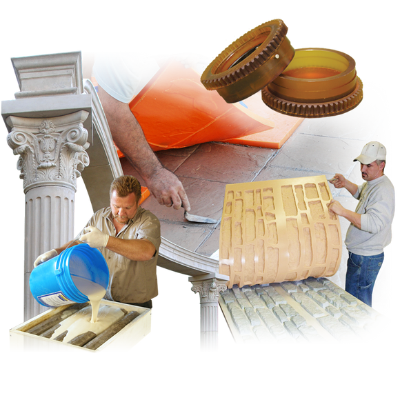 Foams, Latex, Concrete Casting & Industrial Rubbers