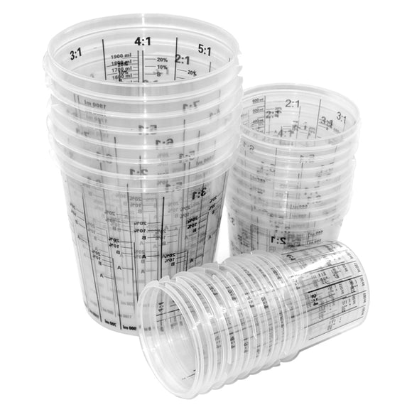 Measuring & Mixing Cup Multi Ratio