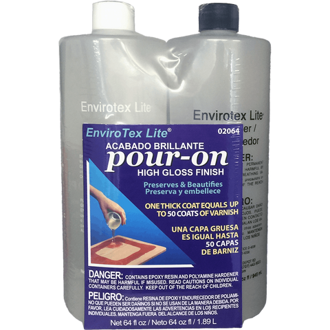 EnviroTex Lite Pour-On Bench Top Resin