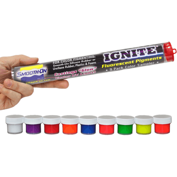 Ignite Fluorecent Pigment for Plastics or Epoxy