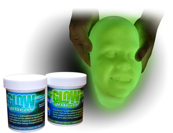 Glow Worm Glow-In-The-Dark Powder