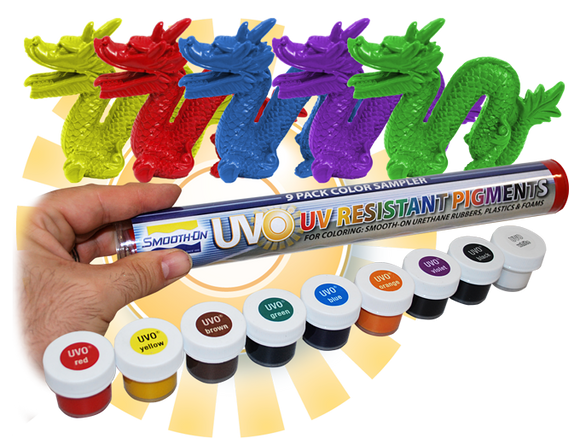 UVO Concentrated Pigment for Plastics Foams & Epoxy