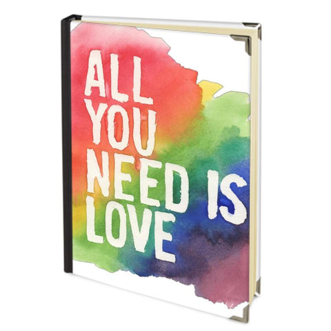 All You Need is Love Journal Rainbow Pride LGBT+