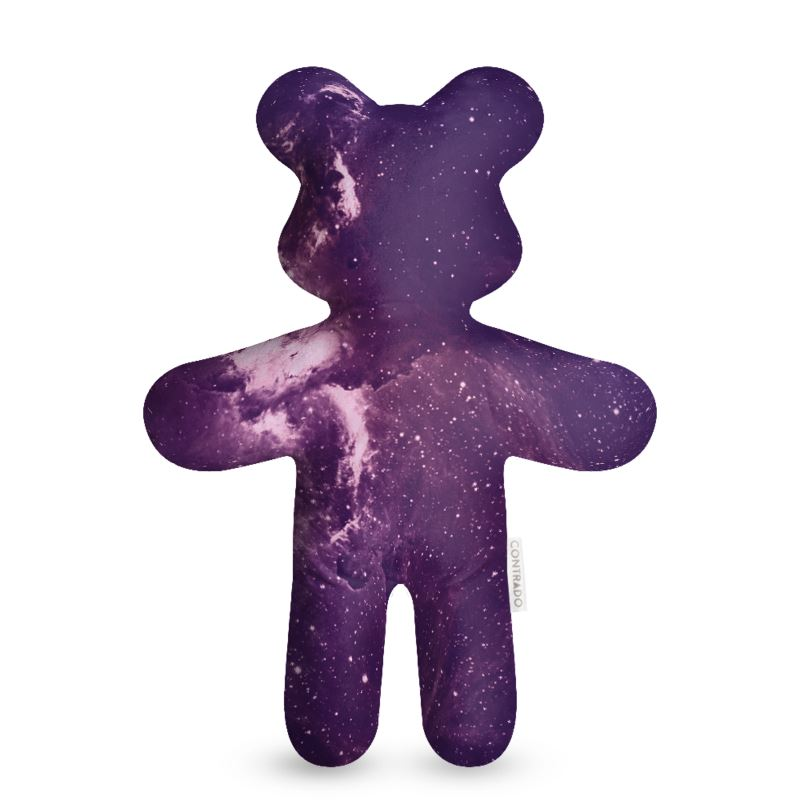 Purple Galaxy Teddy Bear
