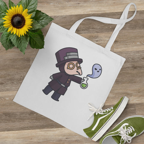 Little Plague Doctor Potion Tote Bag
