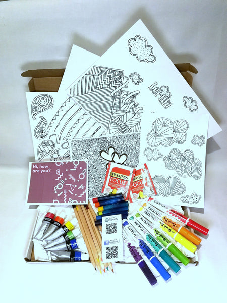 Mindful Joy Colouring Subscription Box -November box orders open now!