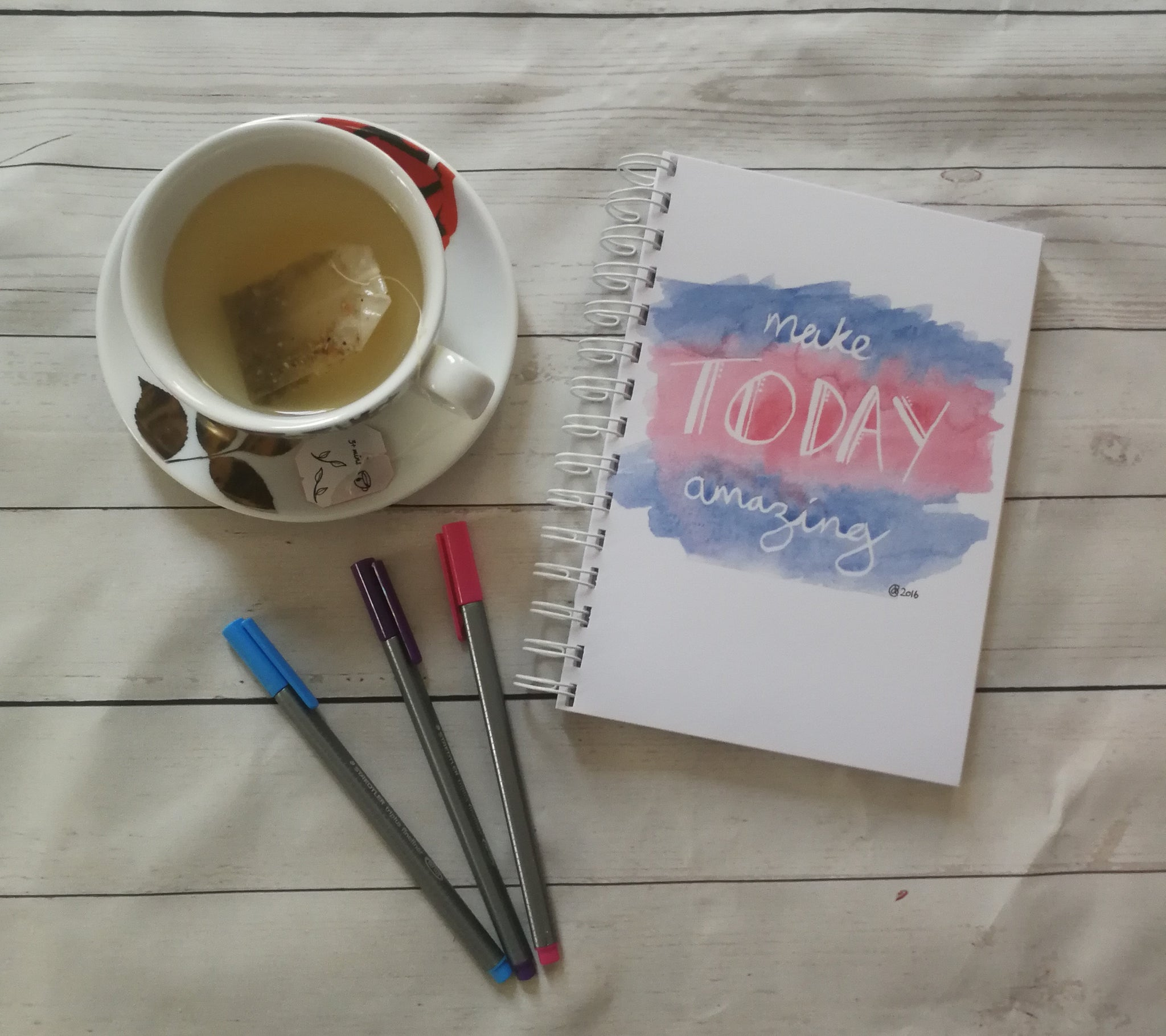Planner/Journal/Notebook -Positive Affirmation -Make Today Amazing