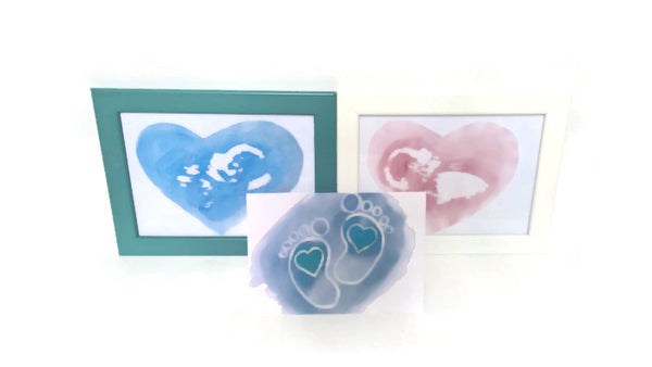 Custom Baby Scan Painting