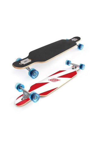 Surf Rebel Longboards Freestyle White Lightning- Complete