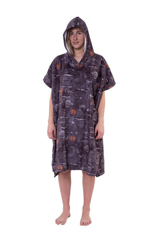 After Poncho Sea World (Stoked Edition)-dark grey-Uni
