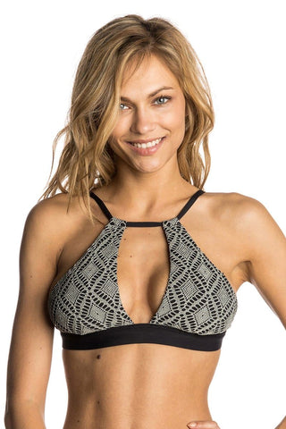 Rip Curl Day Break Hi Neck Bikini Top