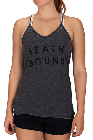 Hurley Beach Bound Burnout Tank-Top
