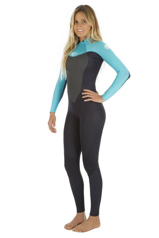 Rip Curl Womens Omega 3-2 BackZip sealed