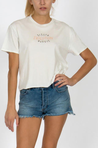Sisstrevolution Reflection Crop Tee