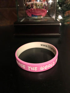 Change the World BabyGirl Wristband