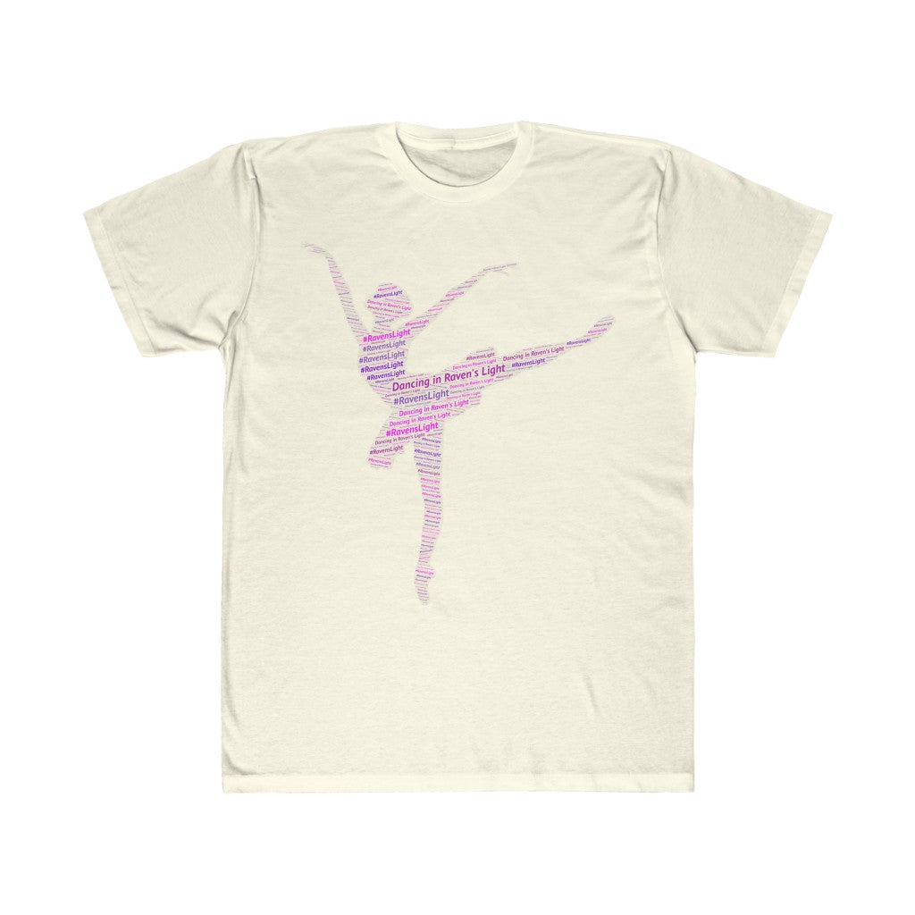 Dancing in Raven's Light Unisex Fitted Tee
