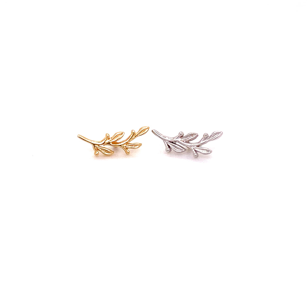 BVLA 14k Gold Threaded End Small Amity