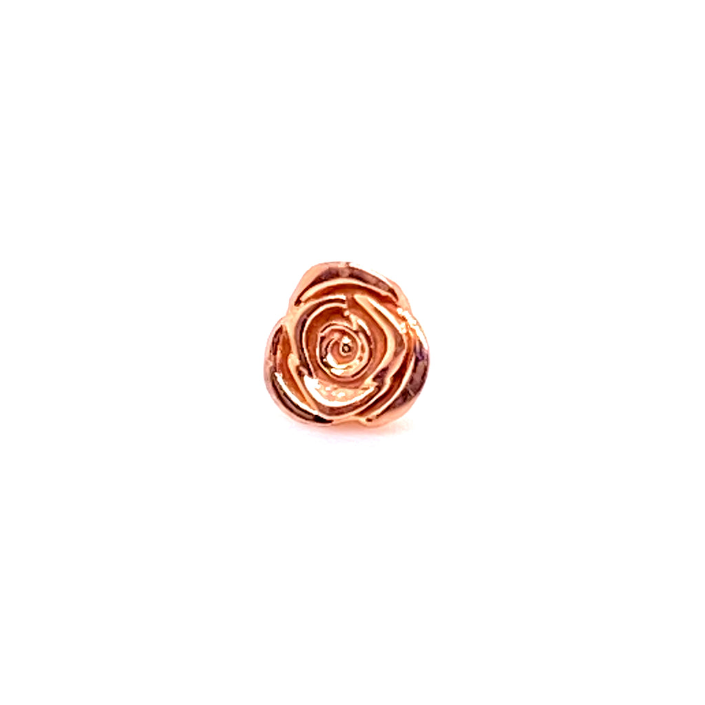 Tawapa 14k Rose Threadless End