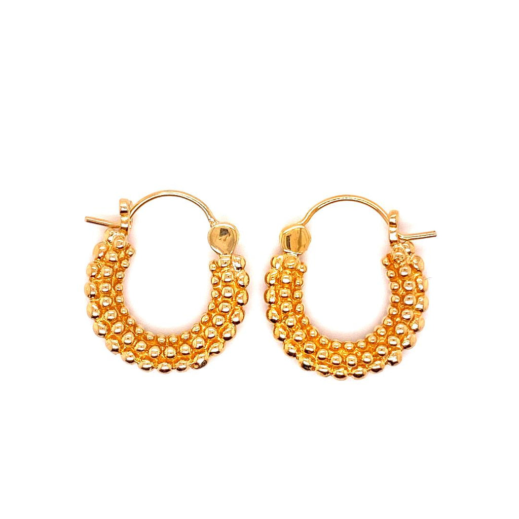 Tawapa Beaded Hoops