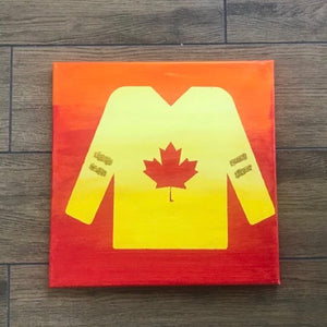 Hockey Jersey Instructed Paint