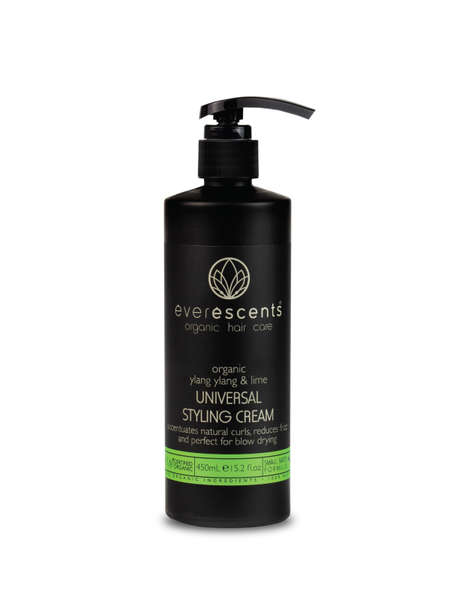 Everescents Organic Ylang Ylang & Lime Universal Styling Cream