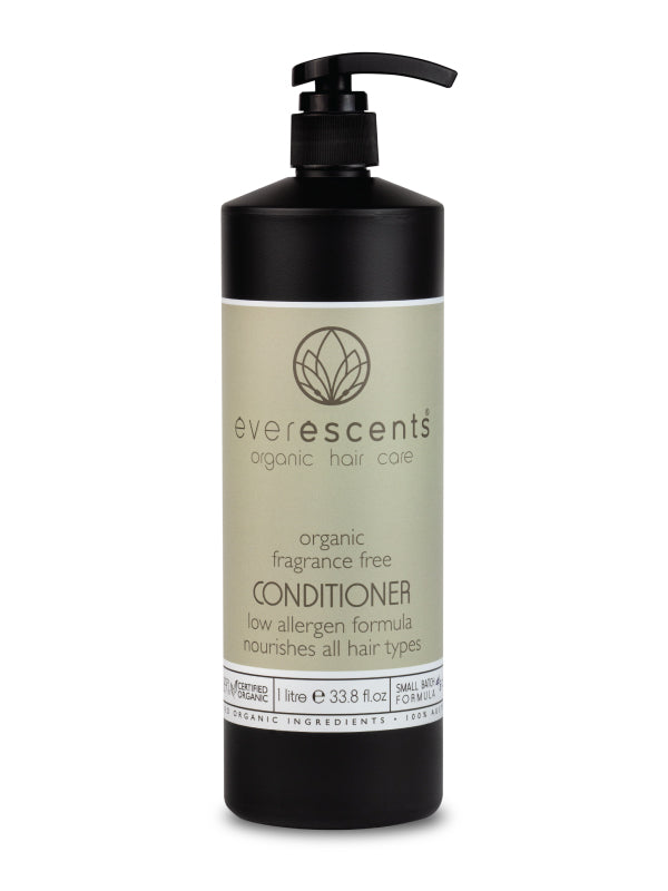 Everescents Organic Fragrance Free Conditioner