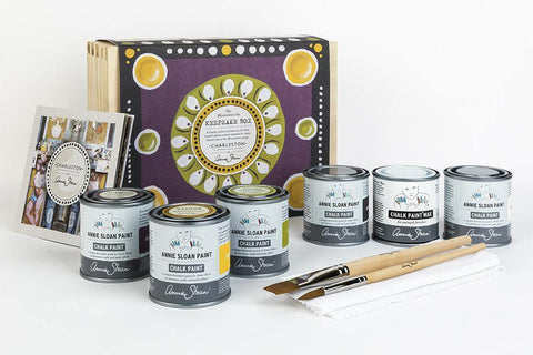 Annie Sloan with Charleston: Paint-Your-Own Keepsake Box - One Amazing Find: Creative Home Market