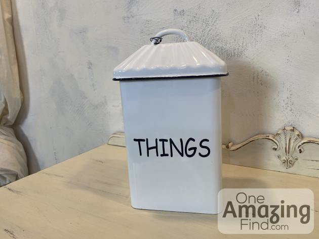 """Things"" Canister"