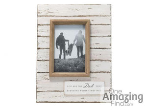 4x4 Dad Photo Frame