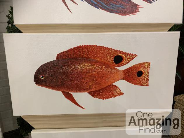 Red Fish by Local Artist Ray Rocha