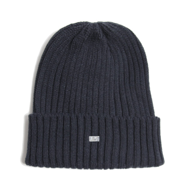 Plain Beanie Navy - Peaceful Hooligan