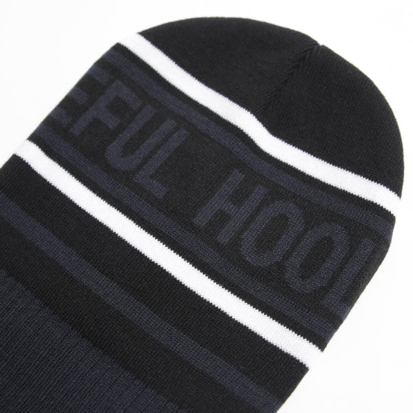 Sign Beanie NP Black - Peaceful Hooligan