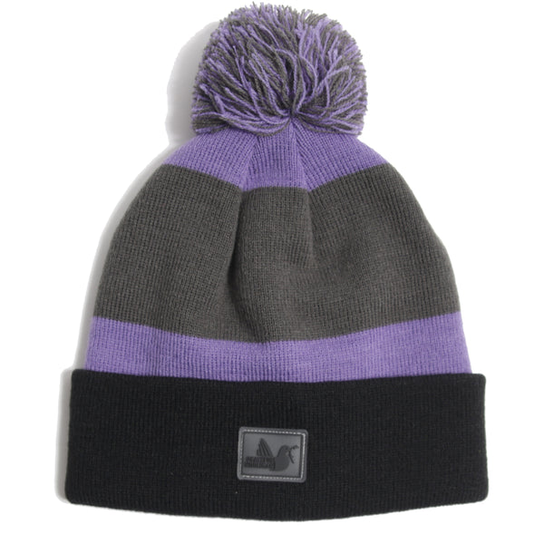 Stripe Beanie Iron Gate - Peaceful Hooligan