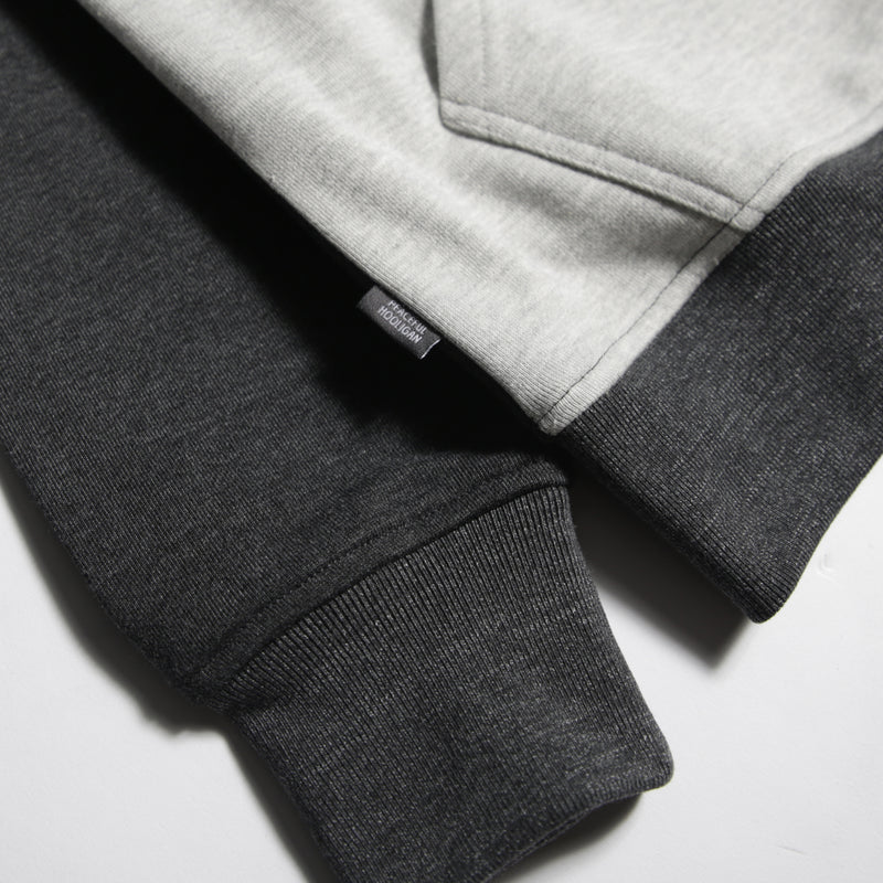 Mono Block Hoodie Black - Peaceful Hooligan