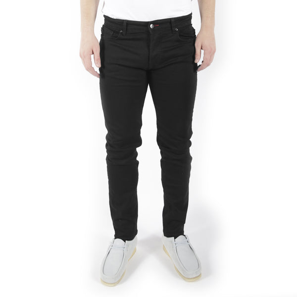 Slim Fit Jeans Black Black Wash