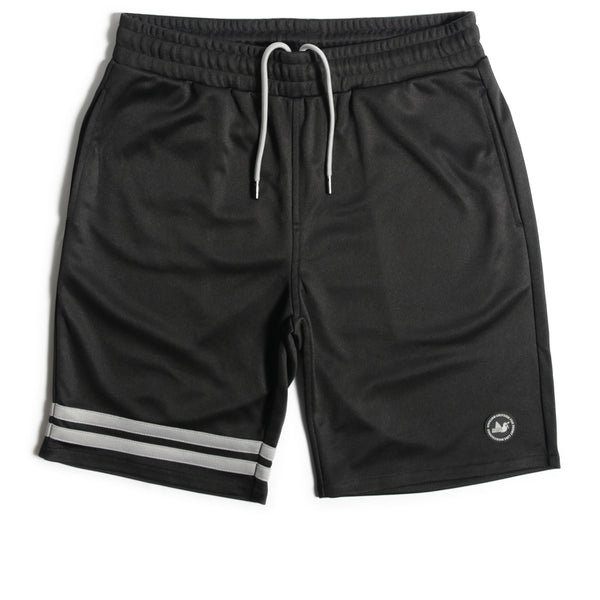 Phantom Track Shorts Black
