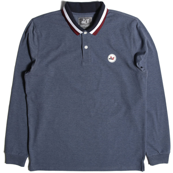 Ledge Polo Marl Indigo