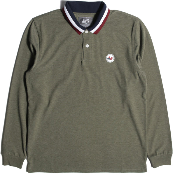 Ledge Polo Marl Khaki