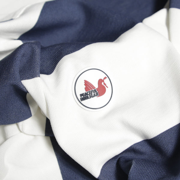 Stripe Rugby Shirt White / Navy