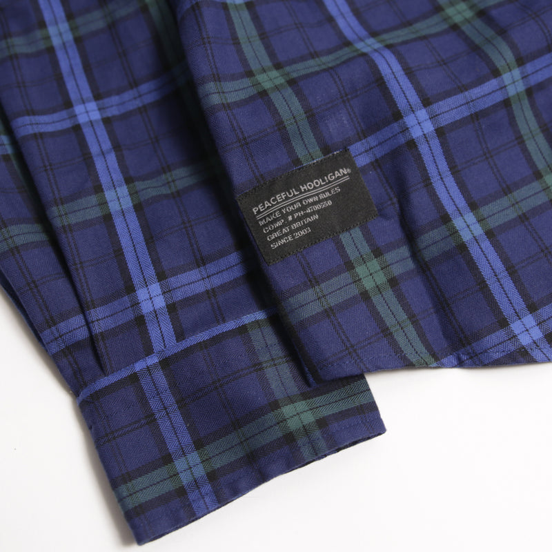 Project Shirt Navy Check