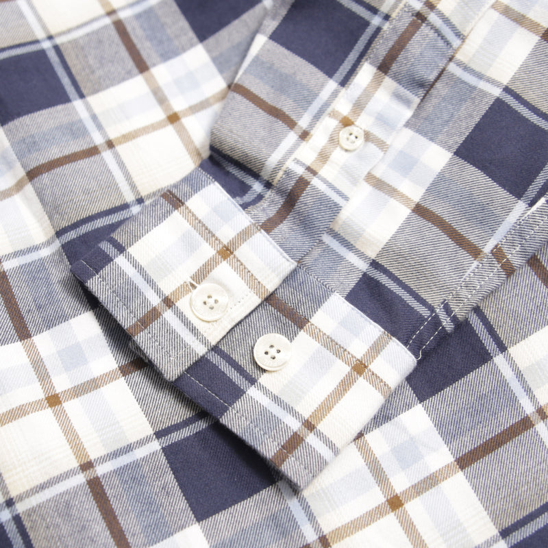 Vaughan Shirt Blue Check