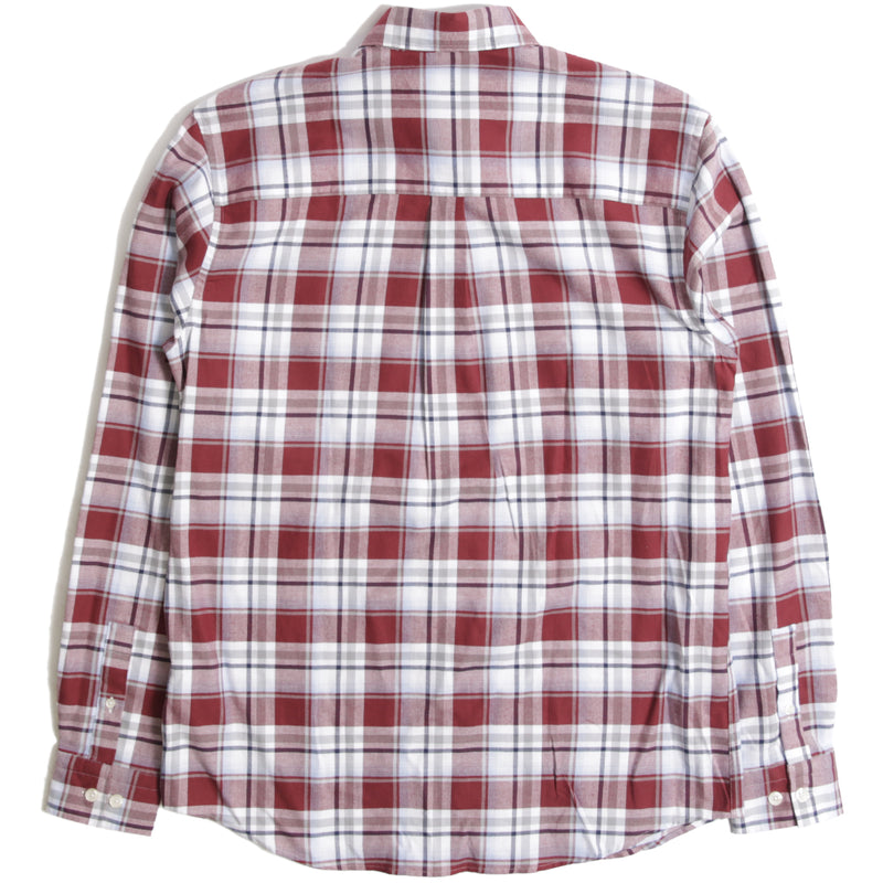 Vaughan Shirt Red Check